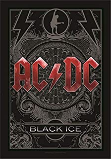 "AC/DC Black Ice Large Fabric Poster / Flag 44"" x 30"" (hr)"
