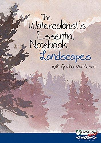 Teaching Art - Watercolorist's Essential Notebook: Landscape