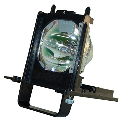 Aurabeam 915B455011/915B455A11 Professional Mitsubishi Rear Projection Television Replacement Lamp DLP Bulb with Housing/Enclosure (Powered by Philips)