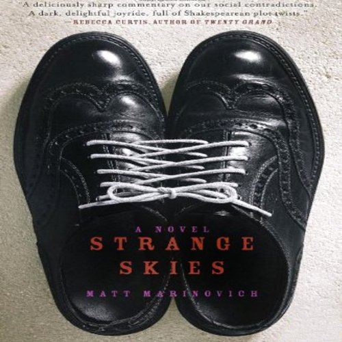 Strange Skies audiobook cover art