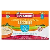 Plasmon Liofilizzati Tacchino - 3 vasetti da 10 gr - Totale: 30 gr