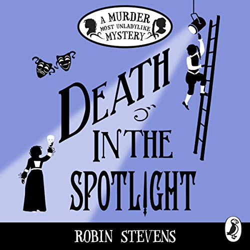 Death in the Spotlight audiobook cover art