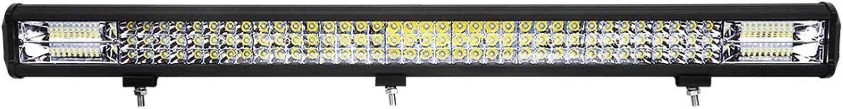 Barra de luz LED Curvada WEISIJI Quad Row