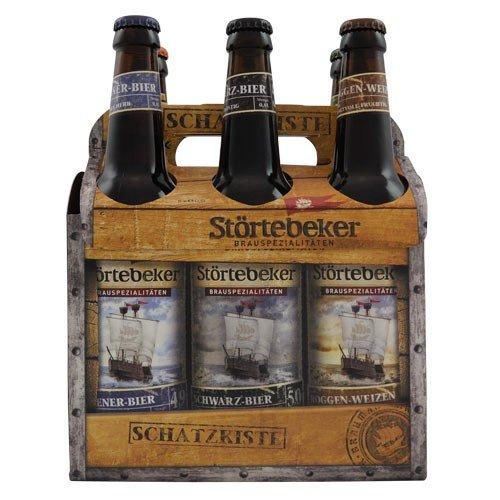 Störtebeker Bier - Schatzkiste (6 x 0,5 l / 5,4 % vol.)
