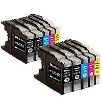 ブラザー LC12 Brother LC12-4PK 互換インク インクカートリッジ 大容量タイプ 10本セット(4色セット*2+2本ブラック) 残量表示可能【1年品質保障】LC12BK LC12C LC12M LC12Y 対応機種:MFC-J6710CDW MFC-J6910CDW MFC-J5910CDW MFC-J955DN MFC-J825N MFC-J705D/DW DCP-J925N DCP-J725N DCP-J525N DCP-J960DN-B/W DCP-J960DWN-B/W DCP-J860DN/DWN DCP-J810DN/DWN DCP-J710D/DW DCP-J940B/W DCP-J840N DCP-J740N DCP-J540N