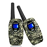 Retevis RT628 VOX Portable 22 Channel Kids Walkie Talkies (Camouflage)