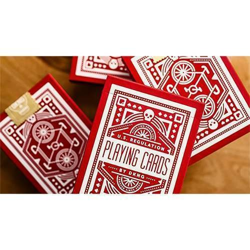 SOLOMAGIA Red Wheel Playing Cards by Dan and Dave - Tarjeta Juegos - Trucos Magia y la Magia