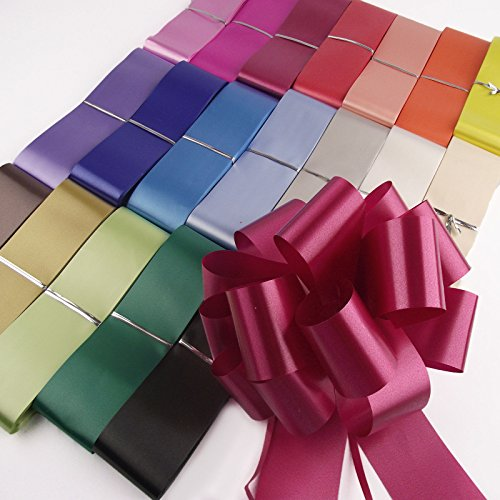 Emballage de Cadeaux D/écoration de F/ête de Mariage 36 Pi/èces 4,5 Pouces Pull Bows de Cadeaux de No/ël Pull Bows d/'Emballage de Cadeaux avec Ruban pour D/écoration de No/ël