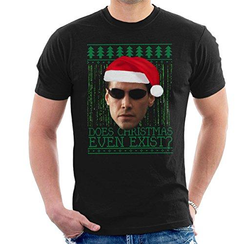 Matrix Neo Christmas Knit Men's T-Shirt