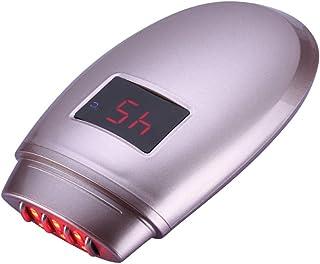 RF顔熱い圧縮LEDカラー光度計、しわ肌の顔の肌の引き締めと引き締めアンチエイジング美容機器,rosegold