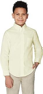 Boys' Long Sleeve Oxford Shirt (Standard & Husky)