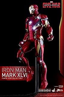 Hot Toys Captain America Civil War Iron Man Mark XLVI 1/6 Scale Power Pose Figure