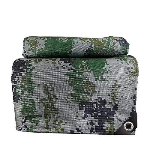 Waterdichte Ripstop Digital Dikke Camouflage Oxford-Stof,Zonnescherm, Stofdichte En Regenbestendige Doek,Gebruikt Voor Tentbouw, Buitenschaduw En Regen,12×15m