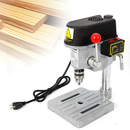 DONNGYZ Electrical Bench Drill Mini Press Work Bench Machine 340W + Drill Chuck + Hex Key(US Stock)
