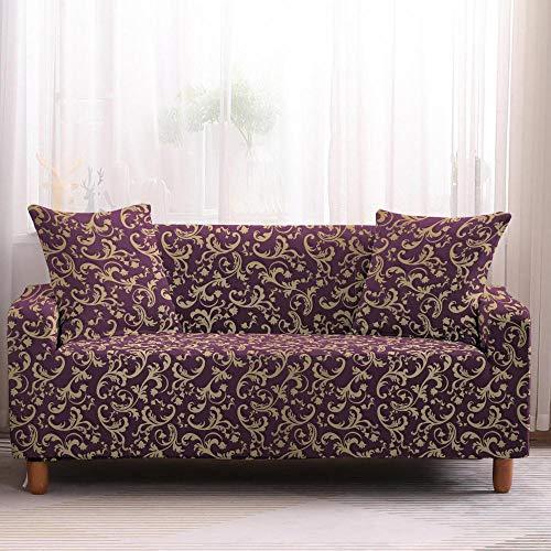 Set di copridivano per soggiorno e divano in stile Boemia, elastico, copridivano, universale, per animali domestici, poltrona ad angolo, 4 posti, colore 1