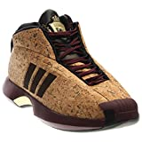 adidas Men's Crazy 1 Basketball Shoe, Maroon/Black/Matte Gold, 8.5 M...