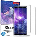 Galaxy Note 9 Screen Protector, (2-Pack) Tempered Glass Screen Protector[Force Resistant Up to 11 Pounds][Easy Bubble-Free] Case Friendly for Samsung Note 9 (Released in 2018)