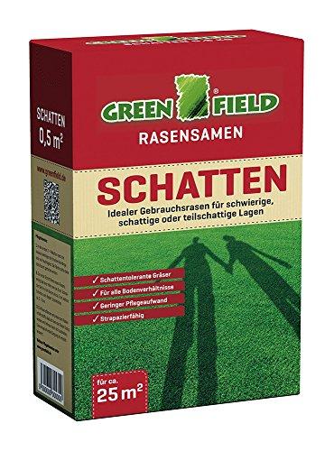 Feldsaaten Freudenberger 62065 Greenfield Schattenrasen 500 g (Schattenrasensamen)