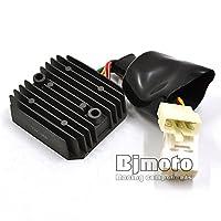 ホンダVTR 1000 SP-Y(SP1)用ブラック新型オートバイレギュレータ整流器電圧12V(2000)