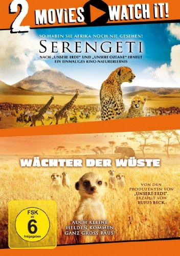 Serengeti / Wächter der Wüste [2 DVDs]