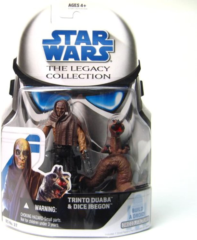 Trinto Duaba & Dice Ibegon BD37 - Star Wars The Legacy Collection 2009 von Hasbro