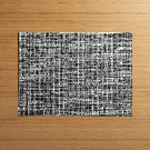 Chilewich Crepe Grey Vinyl Easy Clean Placemat + Reviews | Crate and Barrel