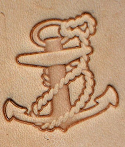 Anchor Craftool 3-D Stamp Item #8680-00 by Tandy Leather
