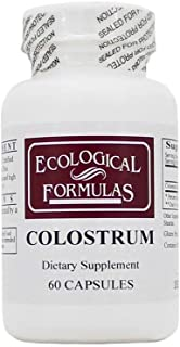 Ecological Formulas - Colostrum 60 caps [Health and Beauty] [Health and Beauty]