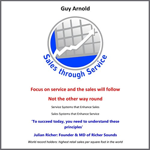 Sales through Service audiobook cover art