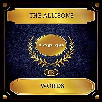 Words (UK Chart Top 40 - No. 34)