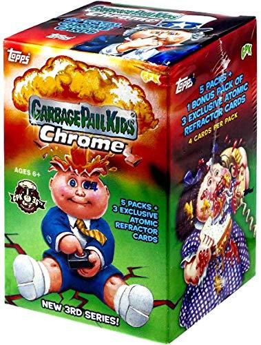 Topps 2020 Garbage Pail Kids Chrome Blaster Box- 5 Packs + 1 Bonus Pack