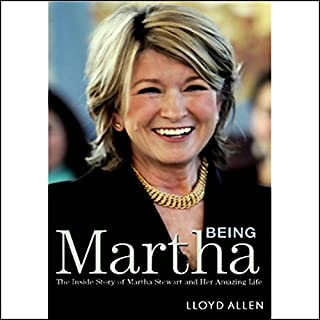 Being Martha audiobook cover art