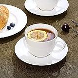 Tazas de porcelana, tazas de café, tazas de té, utilizadas en la oficina y el hogar, regalos de salud (6 piezas)