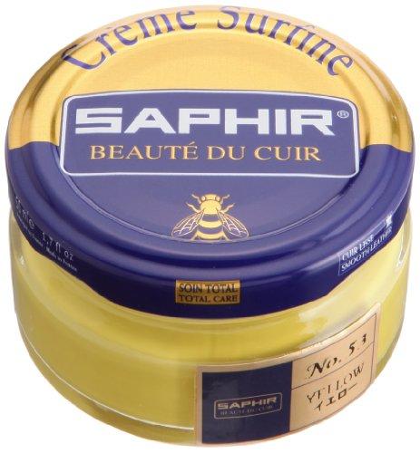 Crème Surfine, de la marca Saphir, para abrillantar zapatos, 50 ml Amarillo (53) YELLOW