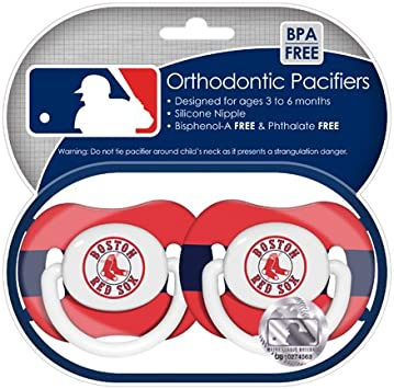 Los Angeles Dodgers Pacifiers 2 Pack Set Infant Baby Fanatic BPA Free MLB