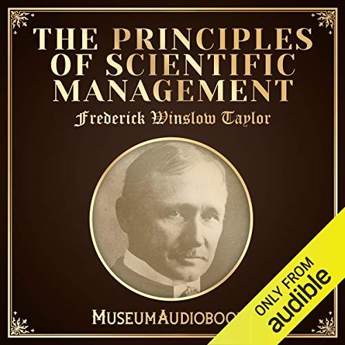 Principles of Scientific Management audiobook cover art