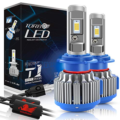 WinPower - H7 - Kits de conversion d'ampoules de phares à LED CREE avec Canbus Intégré- Blanc Xenon 70W 7200Lm 6000K - 2 Pièces