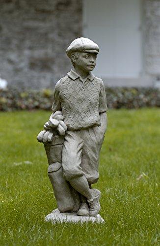 Campania International S-223-AS Male Golfer Statue, Alpine Stone