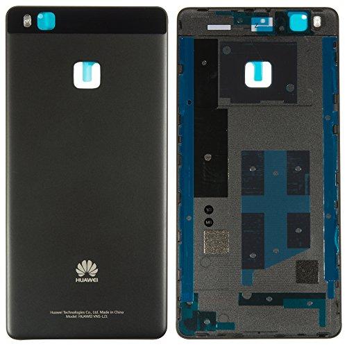 Original Huawei Akkudeckel black / schwarz für Huawei P9 Lite (Akkufachdeckel, Batterieabdeckung, Rückseite, Back-Cover)