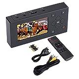 Eboxer Grabador AV Portátil Convertidor de Audio y Video Grabador de Captura de Video con Pantalla TFT de 3'y Soporte de Control Remoto Tarjeta SD y Video en Tiempo Real