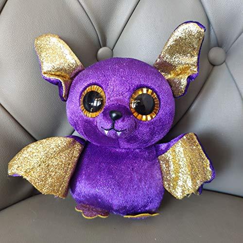 tianluo Juguete De Peluche Púrpura Murciélago 15cm Ojos