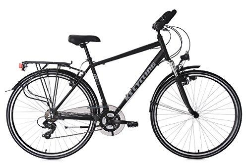 KS Cycling Trekkingrad Herren Alu-Rahmen 28'' Metropolis schwarz RH 51 cm Multipositionslenker