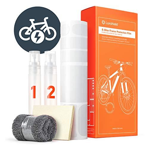 Luxshield Película Protectora de Pintura para Bicicleta Electrica, BMX, Carretera, Trekking, etc....