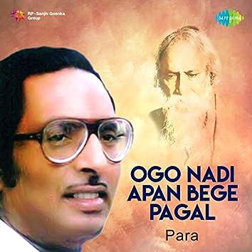 Ogo Nadi Apan Bege Pagal (Para) - Single
