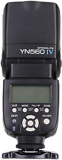 Yongnuo YN560 IV 2.4GHz Flash Speedlite YN560 IV con Transceptor de Apoyo YN560-TX, RF- 603 (I/II), RF- 602 para Canon Nik...