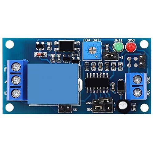 Módulo de vibración para el hogar, módulo electrónico Relé de retardo de activación por vibración Amplia aplicación para sistemas de control de puertas para control automático de equipos