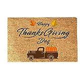 xiaowang Felpudo de Acción de Gracias antideslizante, alfombra...