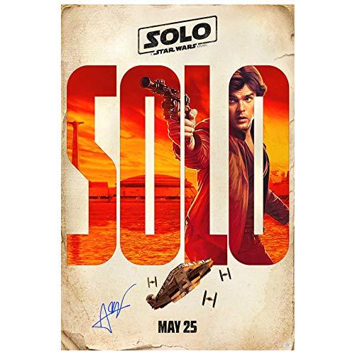 Alden Ehrenreich Autographed 2018 Han Solo Original 27x40 Double-Sided Movie Poster