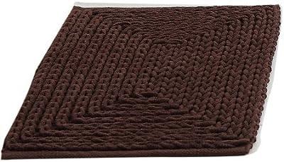 Victoria Classics VCNY Home - Alfombra de Chenilla, Chocolate, 60,9 x 152,4cm, 1