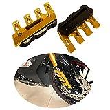 Protección Lateral del Guardabarros Delantero Moto Deslizadores de Guardabarros Protector de Horquilla Inferior para S1000R/RR/XR para Z750/Z800/Z900/Z1000